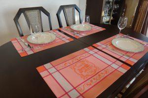 sudetoffe-テーブルウエア―南フランスジャガード織