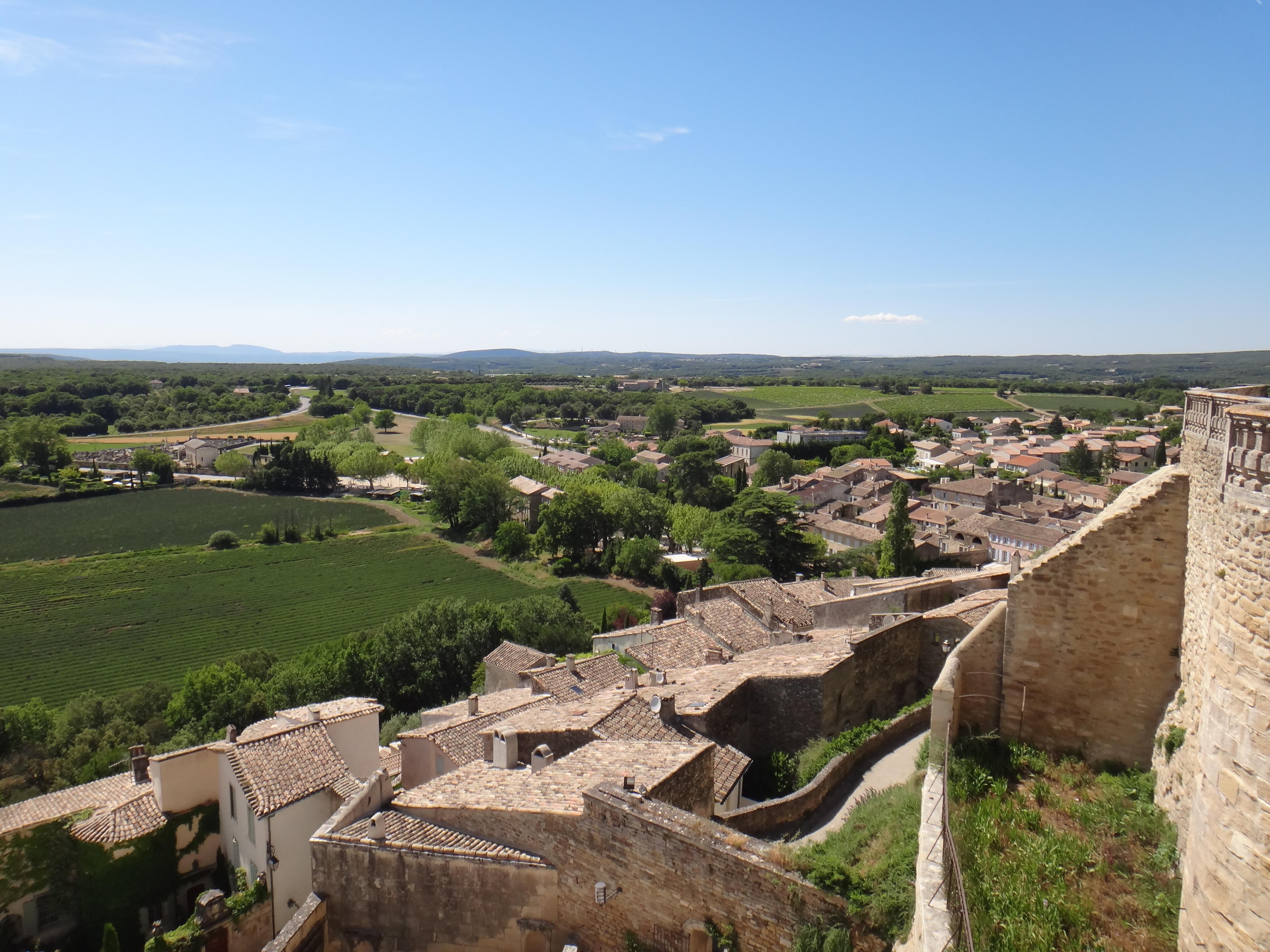 VillageGrignan-グリニャンン村