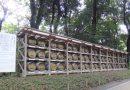 ブルゴーニュの生産者から奉納された明治神宮のワイン樽